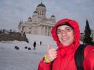 Famous church in Helsinki