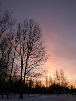 Sunset in Espoo
