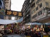 Street market in Mang Kok