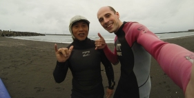 Quake my surf coach in Taiwan