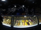 Nice ice cream selection in Taichung