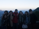 Sunrise tour with a great Taiwanese group