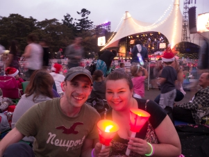 Carols in the Domain with Hailey