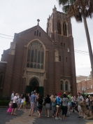 Christmas eve and time to go to church in Manly