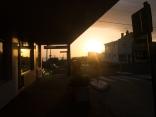 Sunrise on the 31st of december