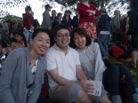 Celebrating New Years eve together with Lily, Ken and Yuka
