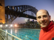 This was a great pool next to the Harbour Bridge