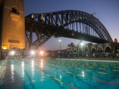 This was an amazing swim next to the Harbour Bridge