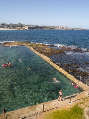 Rock Pool in South Coogee