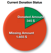 Donation Status Surf For Life 2013-01-16