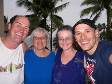 I met Rick, Shelley's mother, Shelley on Maui and we did a snorkel trip together awesome. Thank you for showing me the turtles