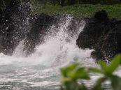 Amazing to watch water on lava rocks