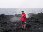 Me next to a blow hole