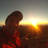 Sunrise thumb up :)