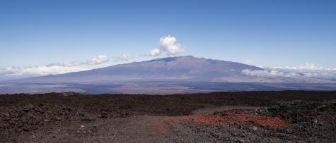 Mauna Kea impression from Mauna Loa