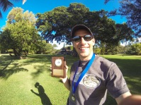 Yeah Winner Trophy at the Captain Cook Fun Run in Waimea