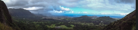 Pali Highway lookout