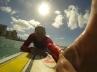 Surfing at Waikiki Beach