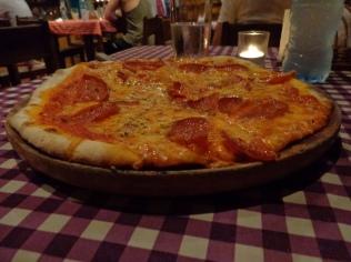 Mmmhhh delicious pizza in Montezuma