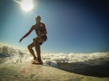 Yeah thumb up for the great surfing at Playa Grande