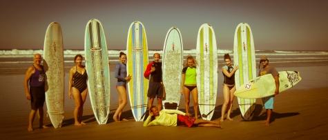Surfing at Santa Theresa