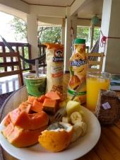 Delicious sunday breakfast