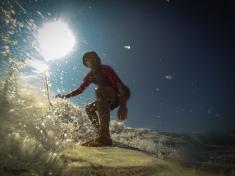 Yeah riding a wave