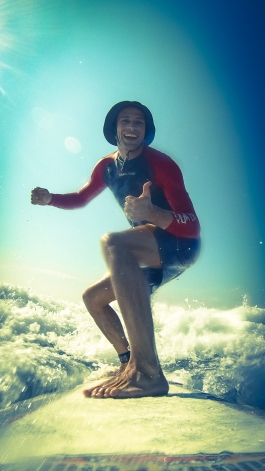 Do Sport often to stay physical and mentally fit (here Surfing in Costa Rica)