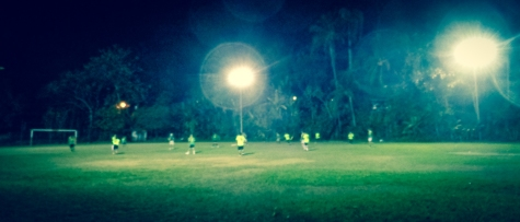 Soccer match in Montezuma