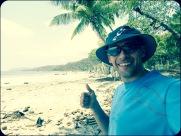 Pura Vida on the beach