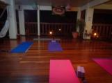 Yoga room in La Escuela Del Sol