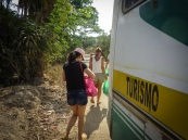 Tourist bus ...