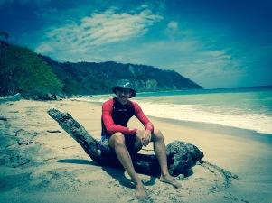 Beach impression at Cabo Blanco