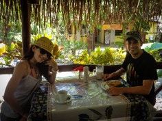 Lunch with Petra in Montezuma
