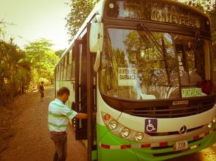 Bustrip to Puntaarenas