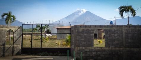 Active Volcano in Nicaragua