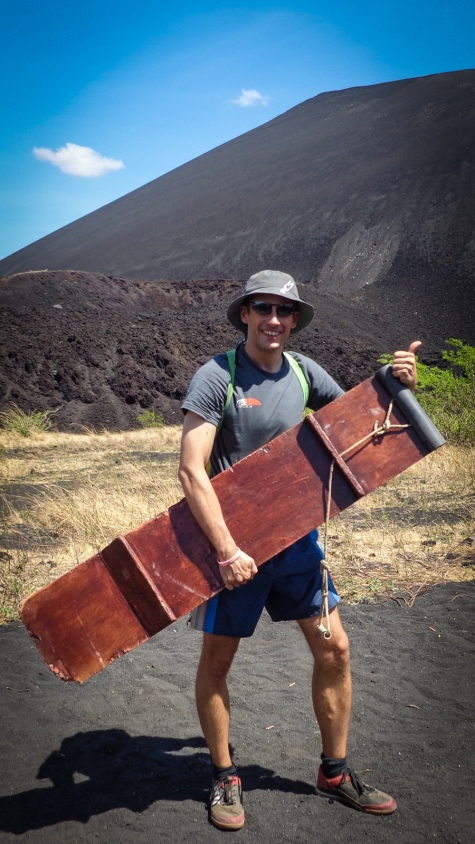 Volcano Surfing! Yeah this will be fun :)
