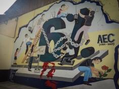 Street art at the university