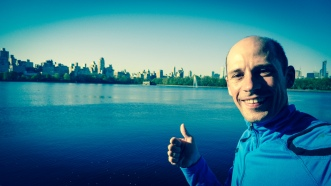 What a nice run around Central Park on a Saturday morning