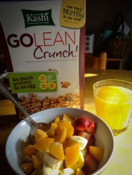 After a nice run, sun and a great breakfast. That's how I love to start my day