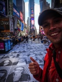 Thumb up for Times Square
