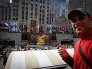 Next to the Rockefeller Center
