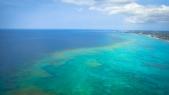 Flying into Nassau, Bahamas