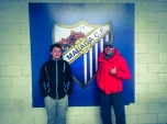 New player of Málaga and his manager in red ;)