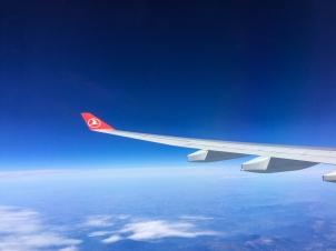 With Turkish Airline to Bishkek