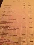 OK this is an interesting menu 10kg lamb (!!!)