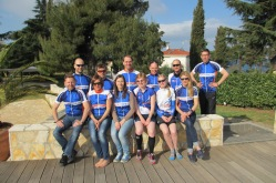 Our Croatia Training group 2015 in Porec, Croatia